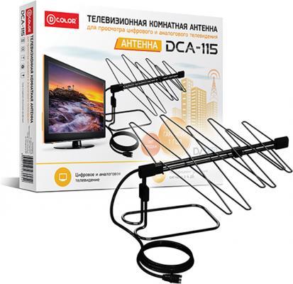 Антенна D-Color DCA-115 tv тюнер d color dc1002hd mini