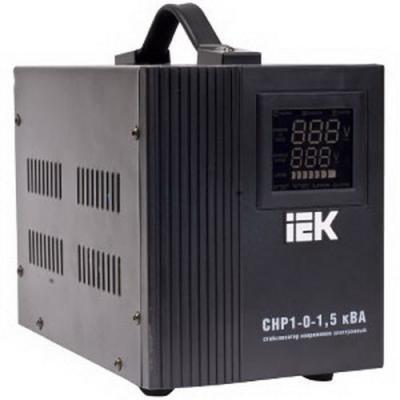 Iek IVS20-1-01500 Стабилизатор напряжения серии HOME 1,5 кВА (СНР1-0-1,5) IEK стабилизатор напряжения iek снр1 0 2 ква