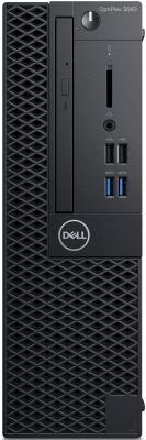 ПК Dell Optiplex 3060 SFF i5 8500 (3)/8Gb/1Tb 7.2k/UHDG 630/DVDRW/Windows 10 Professional/GbitEth/200W/клавиатура/мышь/черный системный блок dell vostro 3268 sff i5 7400 3 0ghz 4gb 1tb hd630 dvd rw linux клавиатура мышь черный 3268 4841