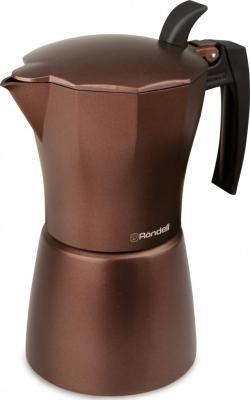 Кофеварка гейзерная Rondell Kortado 6 порций алюминий RDA-995 кофеварка гейзерная на 9 чашек rondell kortado rda 399