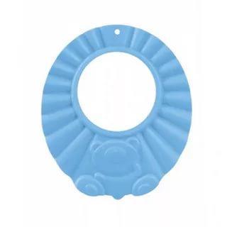 Купить Ободок защитный для мытья волос (74/006) 0+, Canpol, голубой, Детские ножницы и расчески