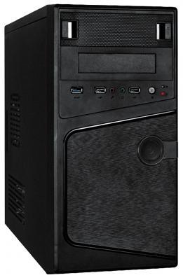 Корпус microATX Exegate BA-121U 350 Вт чёрный (EX271406RUS) корпус exegate ba 110 ab500 black