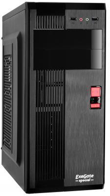 Корпус ATX Exegate AA-325L 500 Вт чёрный (EX271503RUS) мелки цветные 06цв асфальтные пл уп подвес art berry