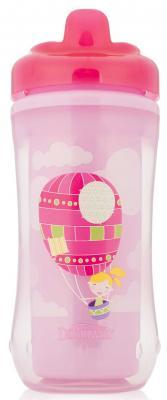 Купить Контейнер Dr.Brown's Чашка-термос 300 мл 1 шт розовый от 1 года 00-0008309, Детская посуда для кормления
