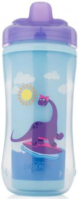 Купить Контейнер Dr.Brown's Чашка-термос 300 мл 1 шт фиолетовый от 1 года 00-0008309, Детская посуда для кормления