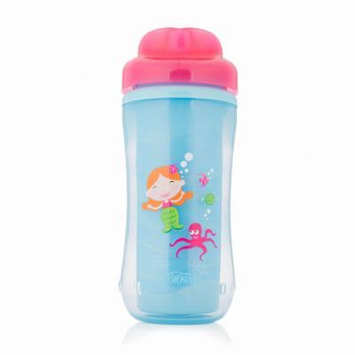 Купить Контейнер — Чашка-термос 300 мл 1 шт розовый от 1 года УТ-0000871, Dr. Brown, Детская посуда для кормления