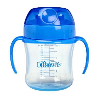 Купить Кружка Dr.Brown's ТС61004 1 шт синий от 9 месяцев ТС61004, Детская посуда для кормления
