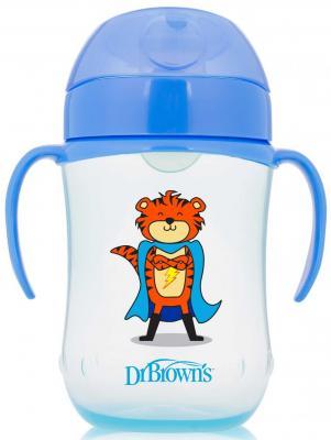 Купить Кружка Dr.Brown's Супергерой 1 шт синий от 9 месяцев ТС91025, Детская посуда для кормления