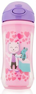 Купить Контейнер Dr.Brown's Чашка-термос 300 мл 1 шт розовый от 1 года УТ-0001785, Детская посуда для кормления