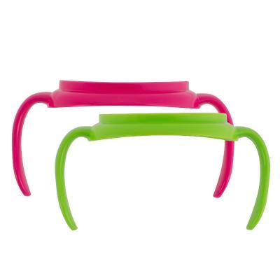 Купить Миска Dr.Brown's Ручки для чашек 2 шт розовый от 6 месяцев DrBr_TC070, Детская посуда для кормления