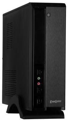 Корпус mini-ITX Exegate MI-207 450 Вт чёрный (EX268691RUS) цена