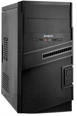 Корпус microATX Exegate BA-112 400 Вт чёрный (EX268704RUS)