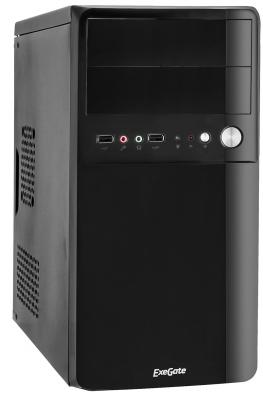 Корпус microATX Exegate BA-110 400 Вт чёрный (EX268706RUS) корпус exegate ba 110 ab500 black