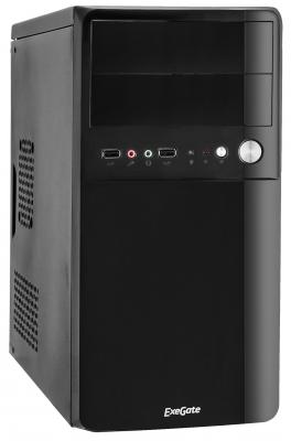 Корпус microATX Exegate BA-110 350 Вт чёрный (EX268705RUS) корпус exegate ba 110 ab500 black