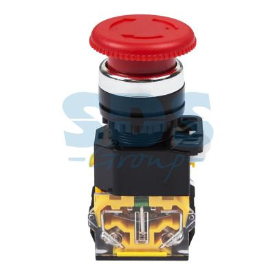 Кнопка антивандальная REXANT 36-3554 Грибок Аварийная 22 мм