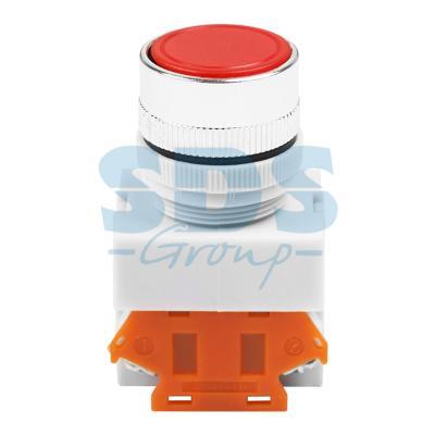 Выключатель-кнопка 10А ON-ON Фикс O22 красная Стоп REXANT