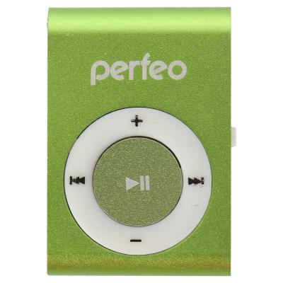 Perfeo цифровой аудио плеер Titanium Lite, зелёный (PF_A4145) плеер perfeo titanium lite green pf a4145