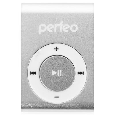 Perfeo цифровой аудио плеер Titanium Lite, серебряный (PF_A4186) плеер perfeo titanium lite green pf a4145
