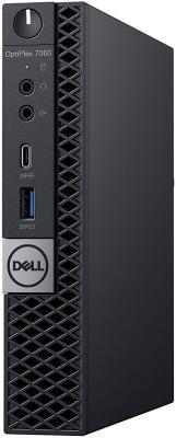 Компьютер DELL Optiplex 7060 Micro Intel Core i5 8500T 8 Гб 1 Тб Intel UHD Graphics 630 Windows 10 Pro чехол для планшета sikai windows 8 1 dell 11 11pro 5130 10 8 sk2015002