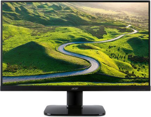 Монитор 27 Acer KA270HKbmjdppx черный IPS 3840x2160 300 cd/m^2 4 ms DVI HDMI DisplayPort Mini DisplayPort монитор жк acer v226hqlabmd 21 5 черный [um wv6ee a09]