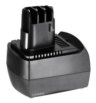 Аккумулятор для Metabo Ni-Cd 6.02151.50, 6.25471, 6.25473, 6.25474, 6.25479, 625473000, 6.25486, TL2482R.20Q, 6.02151.51 аккумулятор для metabo 4 8v 1 3ah ni cd power grip 2 power grip flashlight powermaxx series 6