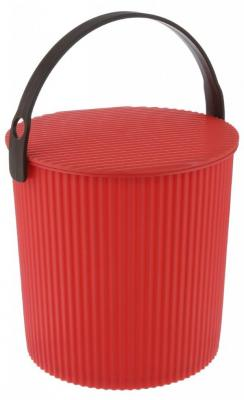 Ведро-стул ИЗУМРУД 102-красное Bambini красное 10л красное боди emma xxl 3xl