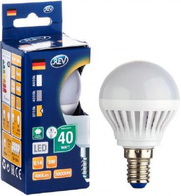Лампа светодиодная шар Rev ritter 32260 3 E14 5W 2700K rev ritter 32372 3