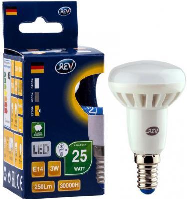 Лампа светодиодная REV RITTER 32361 7 3Вт E14 250лм 2700К теплый свет хомут rev ritter 08289 7