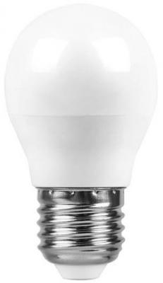 Лампа светодиодная шар Saffit 55036 E27 7W 2700K лампа светодиодная шар saffit sbg4507 e27 7w 4000k 55037