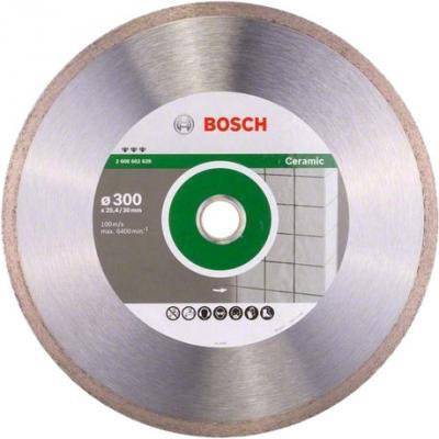 Диск алм. BOSCH Best for Ceramic 300x25.4/30 корона (сплошной) (2.608.602.639) 300 Х 25.4/30 корона