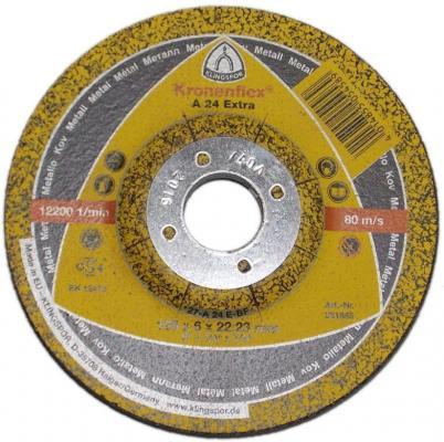 Зачистной круг 125 X 6 X 22 Круг обдир. KLINGSPOR Kronenflex A 24 EXTRA (328782) пл-выпукл.по металлу цена за 1шт диск x& 039 trike x 125 6 5xr16 4x108 мм et45 hsb fp page 6