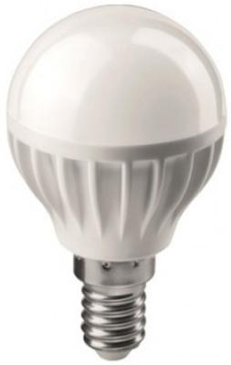 Лампа светодиодная шар Онлайт 388154 E14 6W 4000K лампа светодиодная маяк b45 e14 6w 4000k шар матовый е14 аc 175 250v 6w