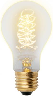 Лампа накаливания UNIEL VINTAGE IL-V-A60-40/GOLDEN/E27 CW01 E27 40Вт колбаA60 форма нитиCW01 equte epew21c3 vintage loop golden bowknot ear studs multicolored pair