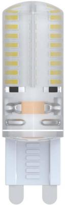 Лампа светодиодная VOLPE LED-JCD-2,5W/WW/G9/CL/S G9 2.5Вт с силиконовым покрытием теплый белый лампа светодиодная диммируемая 10708 g9 25w капсульная матовый led jcd 4w ww g9 cl dim siz03tr