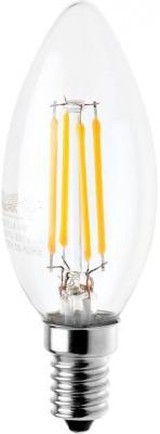 Лампа светодиодная свеча Маяк LED-C35F/4W/2700 E14 4W 2700K brand new big promation high quality e14 4w warm white smd3014 led candle light lamp bulbs 85 265v ac