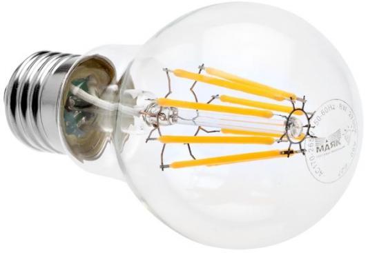 Лампа светодиодная груша Маяк LED-A60F/8W/2700 E27 8W 2700K
