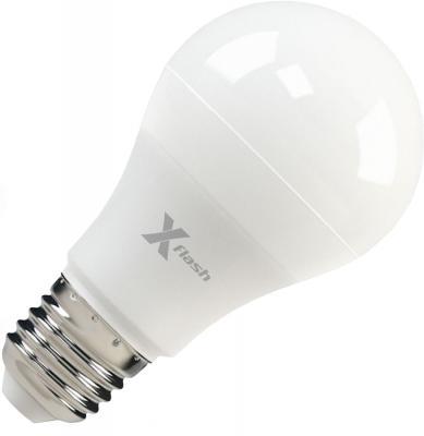 Лампа X-FLASH XF-E27-A60-P-8W-4000K-12V Груша. E27. 4000К. 670лм.X6 фонарь тормоза 2011 mazda3 brearking 8w 12v 2