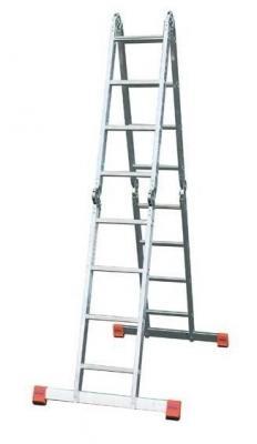 Лестница KRAUSE MULTIMATIC KS-120632 4х3 шарнирная 4 секции 1.75м универсальная лестница krause monto tribilo 3х8 перекладин 245 520 см 121301