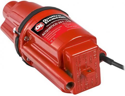 Вибрационный насос QUATTRO ELEMENTI Acquatico 261-10 260Вт 1080 л/ч для чистой 60м кабель10м 32кг насос погружной quattro elementi acquatico 250