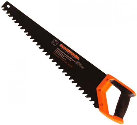 Ножовка SANTOOL 030121-550 550мм по пенобетону защитн. покр. двухкомпонентная ручка ножовка santool 030304