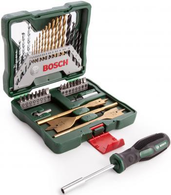Набор BOSCH Titanium X-Line-40 Set (2.607.017.334) + ручная отвертка набор бит и сверел bosch x line 70 2607019329879