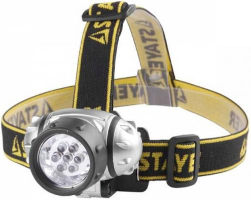 Фонарь STAYER 56572 standard налобный светодиодный 7led 3 режима 3ааа бур stayer 29250 210 08