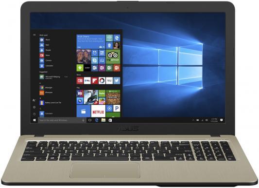 Ноутбук ASUS X540UB-DM048T BTS 15.6FHD/Intel Core i3-6006U/4GB/500GB/GF MX110 2Gb/noODD/WiFi/BT/Windows 10 Home/Chocolate Black