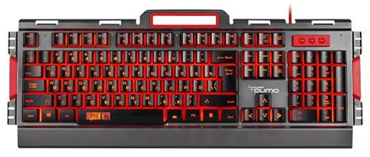 Клавиатура проводная QUMO Prime К39 USB черный цена