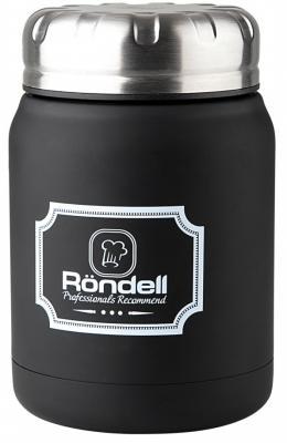 942-RDS Термос для еды 0,5 л Black Picnic Rondell термос для еды aladdin migo