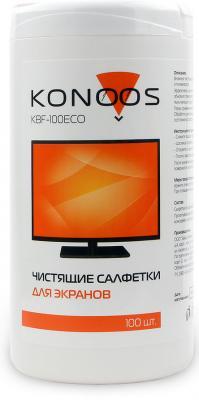 Чистящие салфетки Konoos KBF-100ECO 100 шт