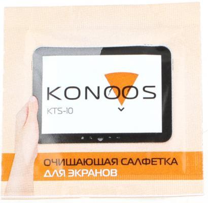 Картинка для Konoos KTS-10 Чистящие салфетки в индивидуальной упаковке для ЖК-экранов 10шт.