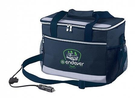 005-VOYAGE Сумка-холодильник Endever.мощность 48 Вт, объем 14 л,серый/черный, питание DC 12 B. сумка холодильник endever voyage 002