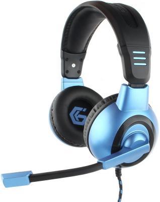 Гарнитура Gembird MHS-G55 черный синий gembird mhs 872 dark gray