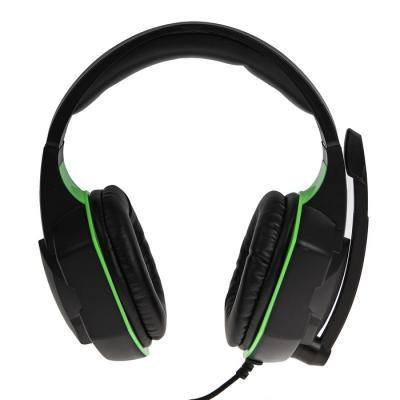 Гарнитура Ritmix RH-560M зеленый черный